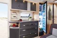 Large Kitchen with Super-Slim-Tower Refrigerator and plenty of shelf space