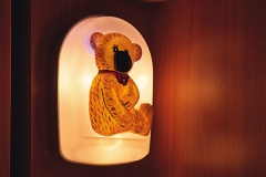 Child-friendly teddy-bear light