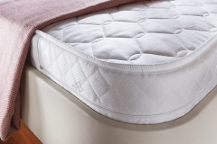 Comfortable sprung mattress